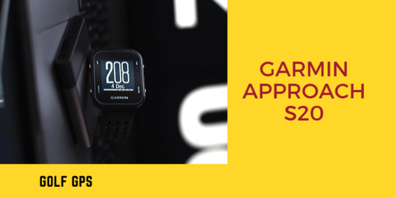 Garmin Approach S20 GPS Golf Watch with Step Tracking reviews