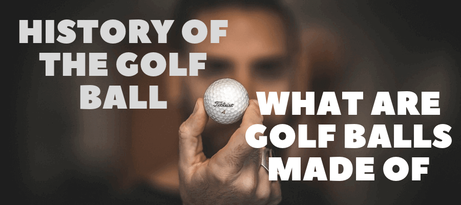 WHAT ARE GOLF BALLS MADE OF