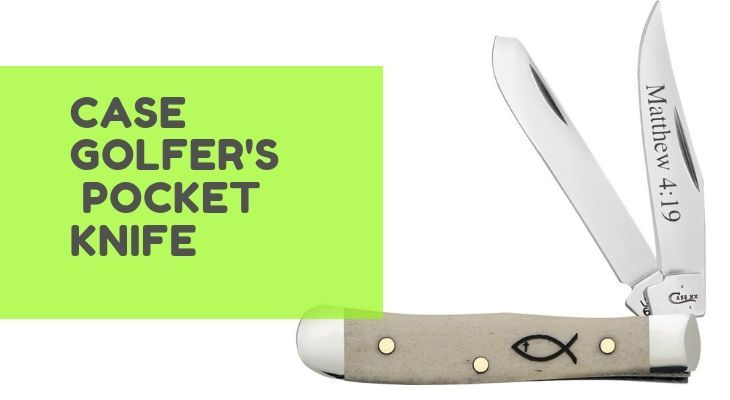 Case Golfer Pocket Knife