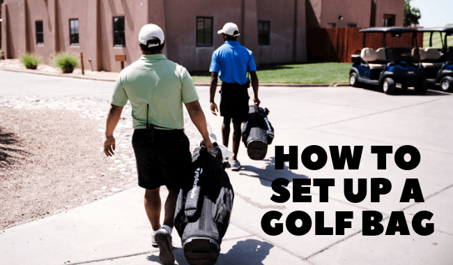 How To Set Up A Golf Bag