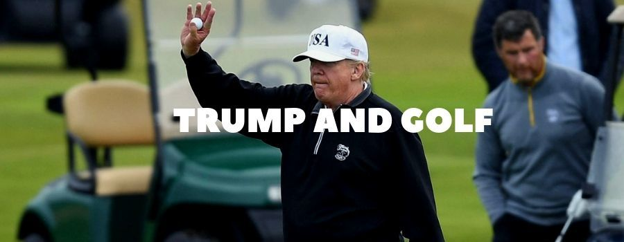 Trump and golf