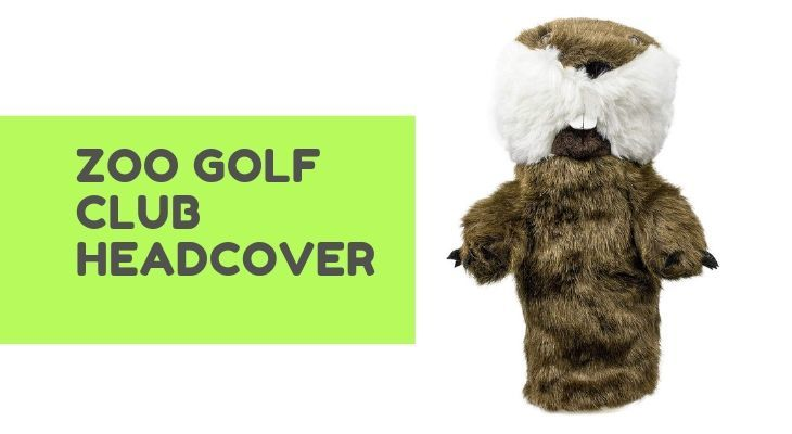Zoo Golf club Headcover