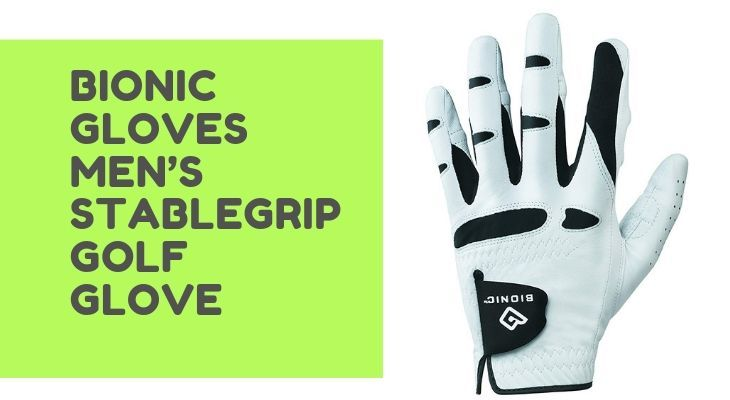 bionic stable grip golf glove
