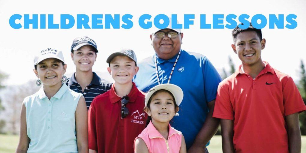 childrens golf lessons