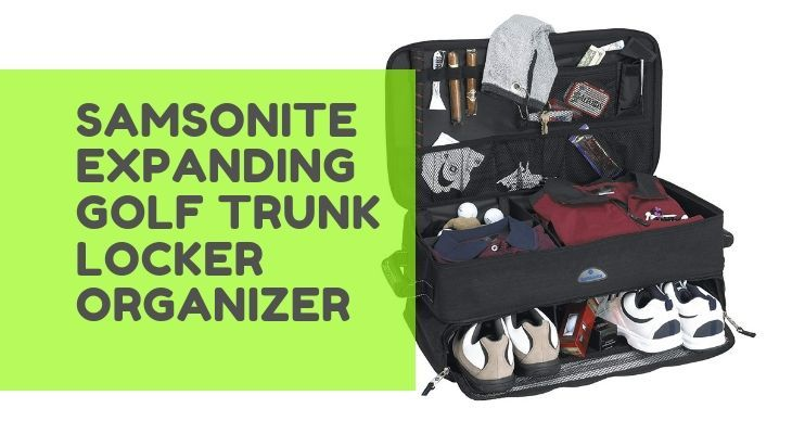 samsonite golf trunk organizer