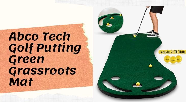 Abco Tech Golf Putting Green Grassroots Mat