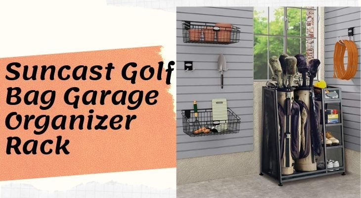 Golf Bag Garage Organizer Rack