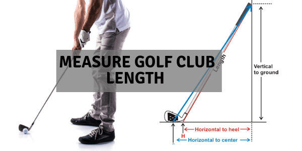 How to measure golf club length