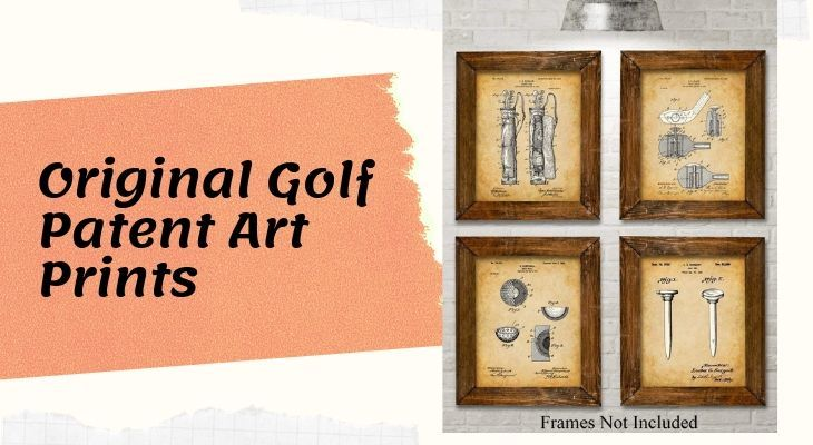 Original Golf Patent Art Prints