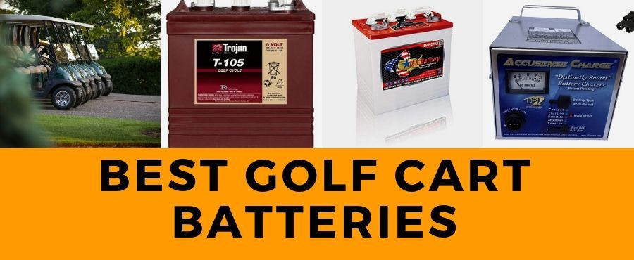 11 best golf cart batteries(6v,8v,12v)cart charger(36v,48v) Reviews 2021