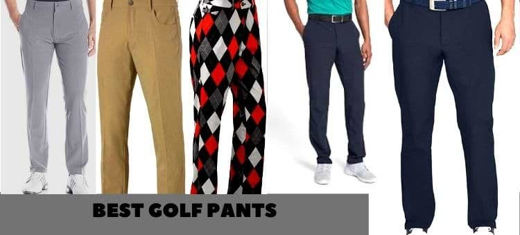 Best golf pants for men, women, rain, and winter reviews 2021