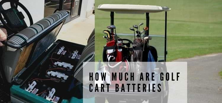 How much are golf cart batteries
