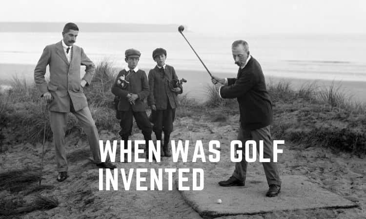 When was golf invented