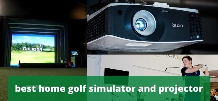 Best home golf simulator and projector reviews 2021