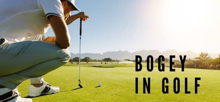 what is a bogey in golf