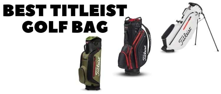 best titleist golf bag