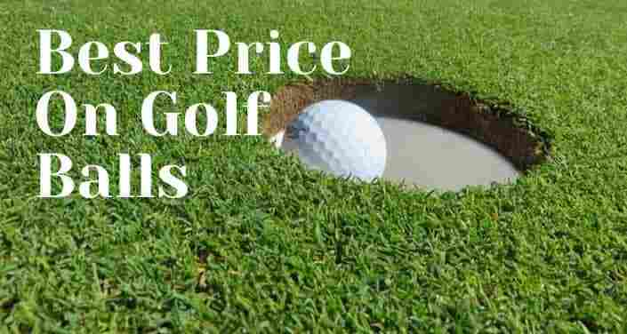 best price on golf balls