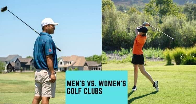difference between men's and women golf clubs
