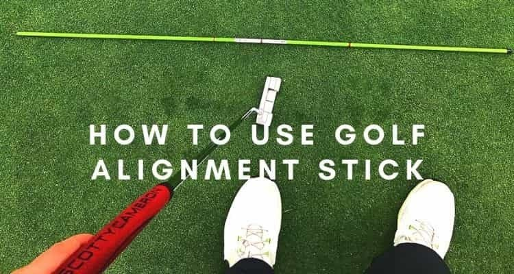How to use golf alignment stick