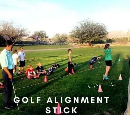 golf alignment stick