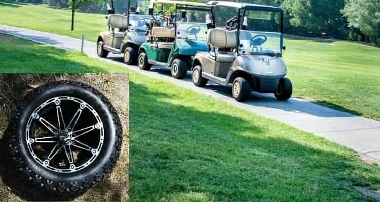 How much is a golf cart tire cost