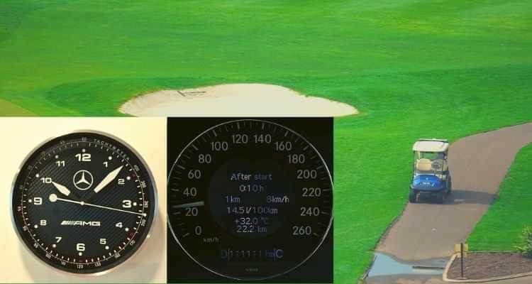 best golf cart speedometer