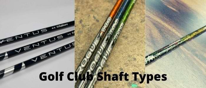 golf club shaft types