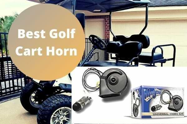 Best Golf Cart Horn