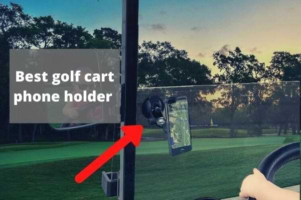 best golf cart phone holder