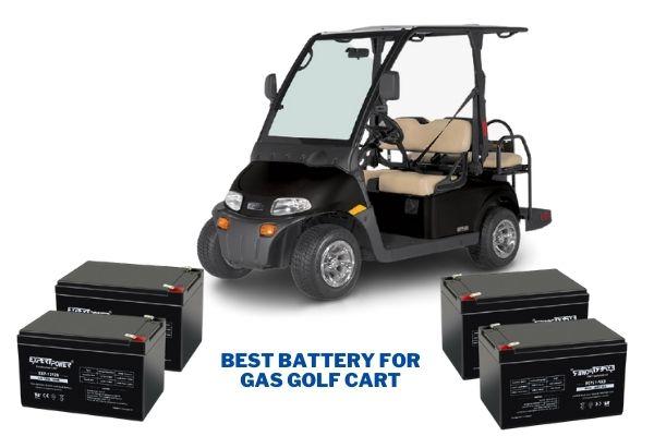Best Battery for Gas Golf Cart Reviews 2021