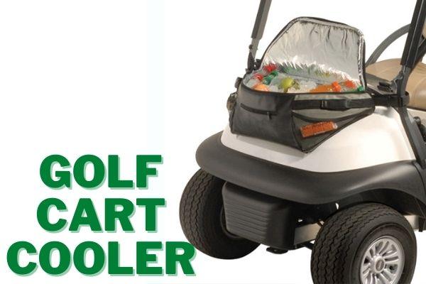 Strap a Cooler on a Golf Cart