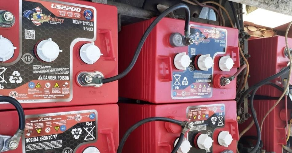 Battery for Gas Golf Cart