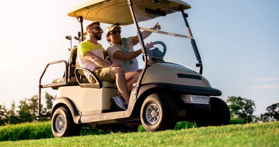 gas golf cart